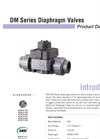 DM Valves PRODUCT Data Sheet